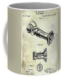 1896 Fire Hose Spray Nozzle Patent  Coffee Mug