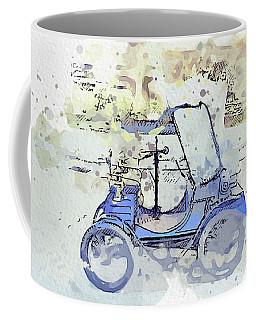 1899 Boursaud Open 3 Watercolor By Ahmet Asar Coffee Mug