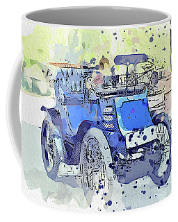 1899 Boursaud Open Watercolor By Ahmet Asar Coffee Mug