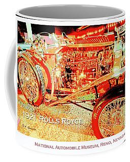 1921 Rolls Royce Classic Automobile Coffee Mug