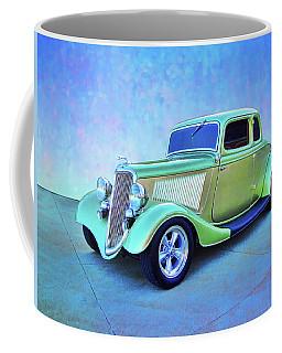 1934 Green Ford Coffee Mug