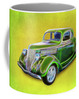 1936 Green Ford Coffee Mug