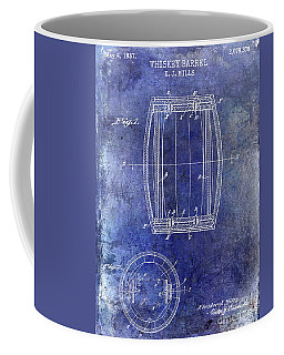1937 Whiskey Barrel Patent Coffee Mug
