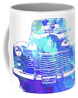 1941 Cadillac Front Abs Blue Coffee Mug