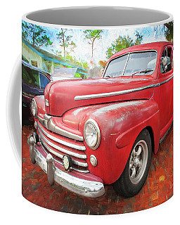 1947 Ford Super Deluxe Coupe 001 Coffee Mug