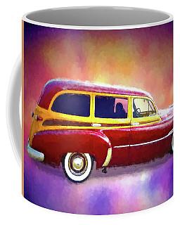1951 Chevy Woody Sideview Coffee Mug
