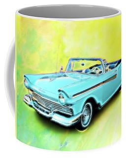 1957 Ford Fairlane Convertable Coffee Mug