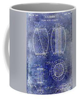 1962 Whiskey Aging Patent Blue Coffee Mug