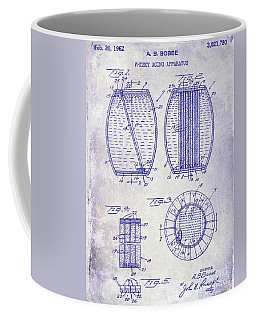 1962 Whiskey Aging Patent Blueprint Coffee Mug