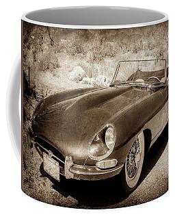 1963 Jaguar Xke Roadster-111scl Coffee Mug