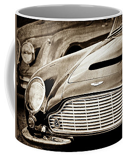 1965 Aston Martin Db6 Short Chassis Volante Grille-0970s2 Coffee Mug