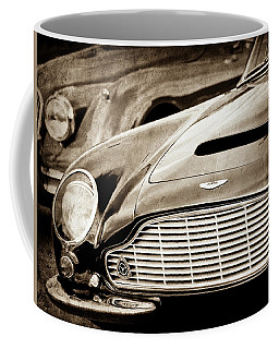 1965 Aston Martin Db6 Short Chassis Volante Grille-0970scl Coffee Mug