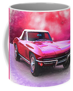 1965 Red Vette Coffee Mug