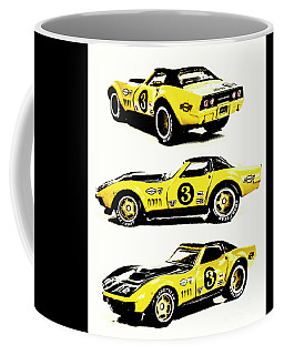 1969 Chevrolet Copo Corvette Coffee Mug