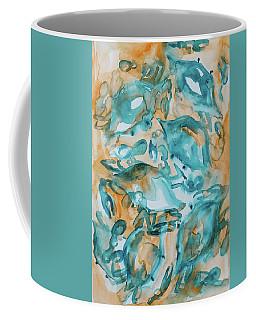Blue Crabs Together Coffee Mug