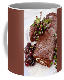 Yule Log Coffee Mugs