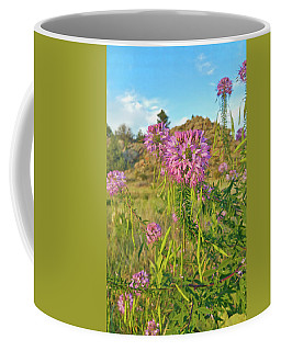Colorado Pink Wildflowers Coffee Mug
