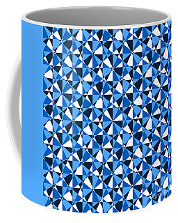 Crazy Psychedelic Art In Chaotic Visual Color And Shapes - Efg22 Coffee Mug