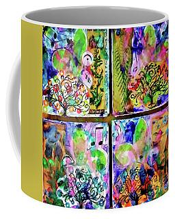 Decoupaged Fine Art Coasters Coffee Mug