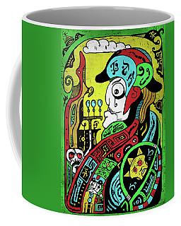 Coffee Mug featuring the digital art Emperor by Sotuland Art