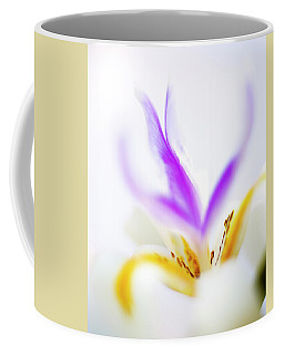 Coffee Mug featuring the photograph White Iris II by John Rodrigues
