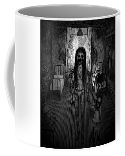 Jessica And Her Broken Doll - Artwork Coffee Mug