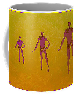 Male In Perspective Coffee Mug