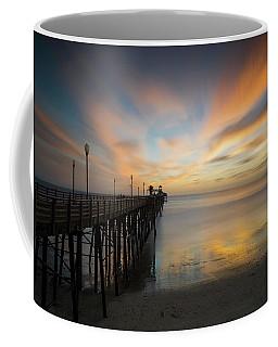 Oceanside Pier Sunset Coffee Mug