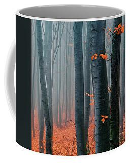 Orange Wood Coffee Mug