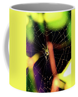Web Of Hearts Coffee Mug