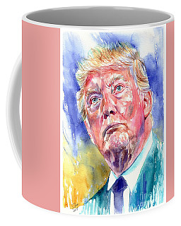President Donald Trump Portrait Coffee Mug