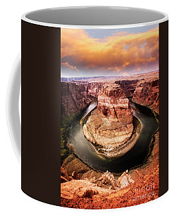 Coffee Mug featuring the photograph River Bend by Scott Kemper