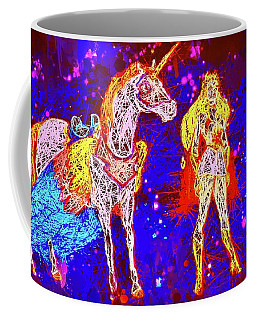 She - Ra And Swift Wind Coffee Mug