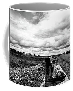 2 Stones On Bench Coffee Mug