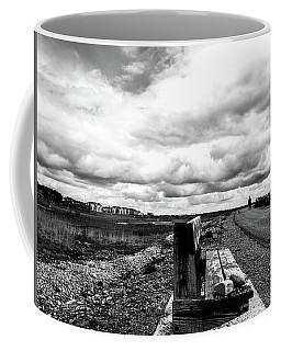 2 Stones On Bench Coffee Mug