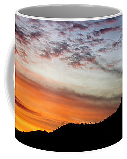 Coffee Mug featuring the photograph Sunset Over Thumb Butte by Scott Kemper