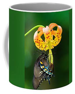 Swallowtail On Turks Cap Coffee Mug