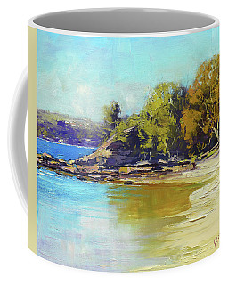 Sydney Harbour Beach Coffee Mug