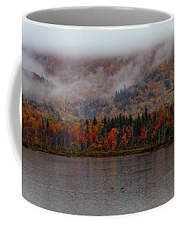 Coffee Mug featuring the photograph The Basin In Maine by Jeff Folger