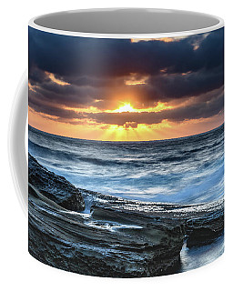 A Moody Sunrise Seascape Coffee Mug