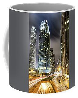Hong Kong Night Rush Coffee Mug