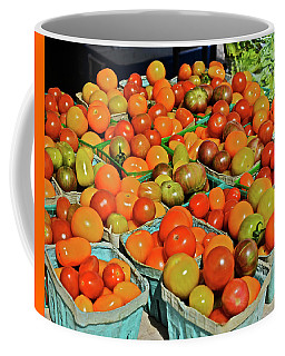 2019 Farmers' Market Spring Green Cherry Tomatoes Coffee Mug