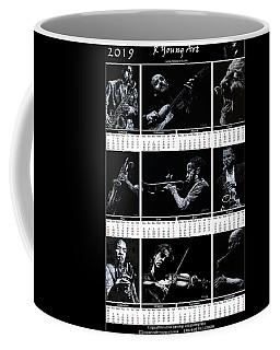 2019 High Resolution R Young Art Musicians Calendar Coffee Mug