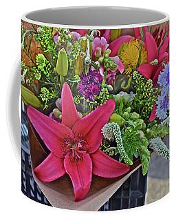 2019 Monona Farmers' Market July Bouquet 3 Coffee Mug
