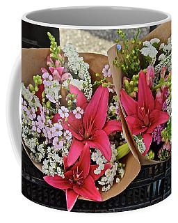 2019 Monona Farmers' Market July Bouquets 1 Coffee Mug