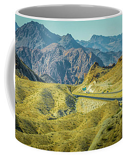 Coffee Mug featuring the photograph Red Rock Canyon Landscape Near Las Vegas Nevada by Alex Grichenko