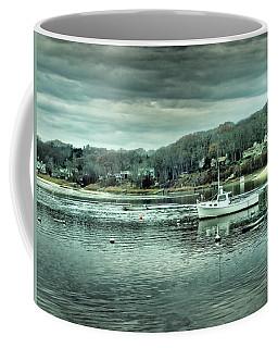 Boats At Northport Harbor Coffee Mug