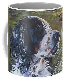 English Setter In The Field Coffee Mug