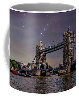 Coffee Mug featuring the photograph London Tower Bridge by Anthony Dezenzio