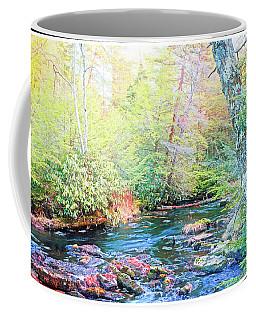 Pocono Mountain Stream, Pennsylvania Coffee Mug